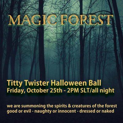 Titty Twister Halloween Ball 2019 Magic Forest2
